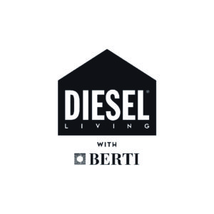 Logo Diesel Living with Berti